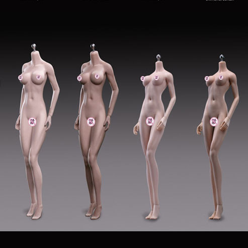 (예약) Flexible Female Seamless Bodies / PLMB2018-S24A, 25B, 26A, 27B