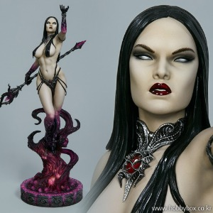 (예약) Dark Sorceress: Guardian of the Void Statue / 300757