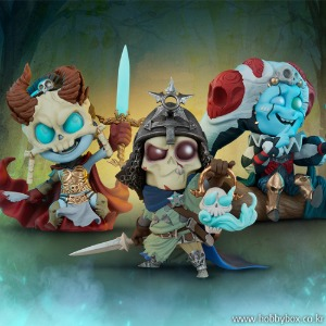 (예약) Kier, Relic Ravlatch, & Malavestros: Court-Toons Collectible Set Statue / 죽음의 법정 / 700199