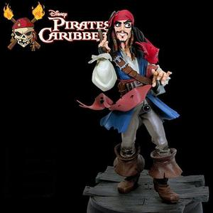 (15%DC)캐리비언 해적 Jack Sparrow - animaited maquette